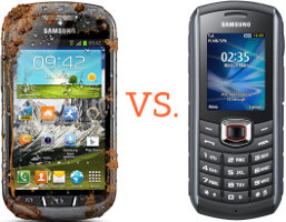 Outdoor-Smartphone vs. Outdoor-Handy