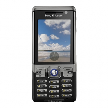 Sony Ericsson C702 schwarz