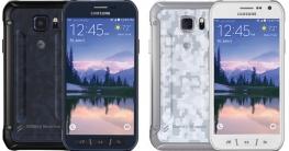 Samsung Galaxy S6 Active Schwarz und Weiß