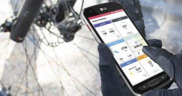 LG X venture: Robustes Smartphone mit großem Akku und Handschuh-Modus vorgestellt